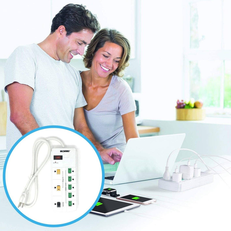 Ideaworks Energy Strip Power Saver Gadgets & Accessories - DailySale