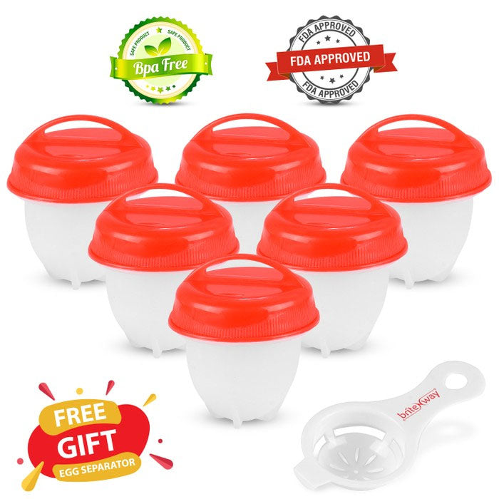 6-Pack: As Seen on TV BriteNway Silicone Egg Cooker - DailySale, Inc