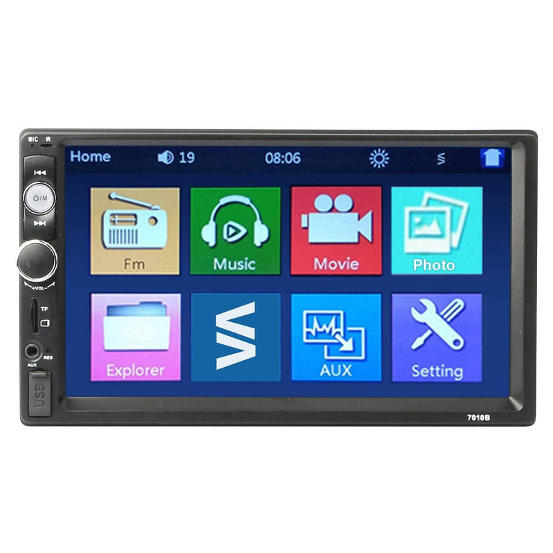 iMountek 7 Inches Universal Wireless Car MP5 Player with Rear View Camera Automotive - DailySale
