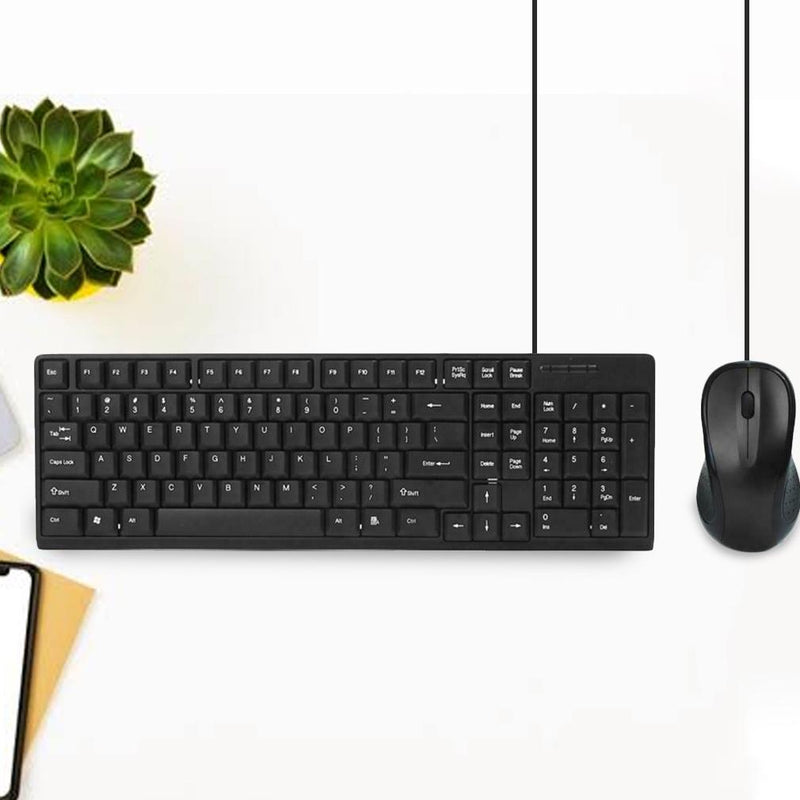 IMPECCA Desktop USB Keyboard and Mouse Combo Tablets & Computers - DailySale