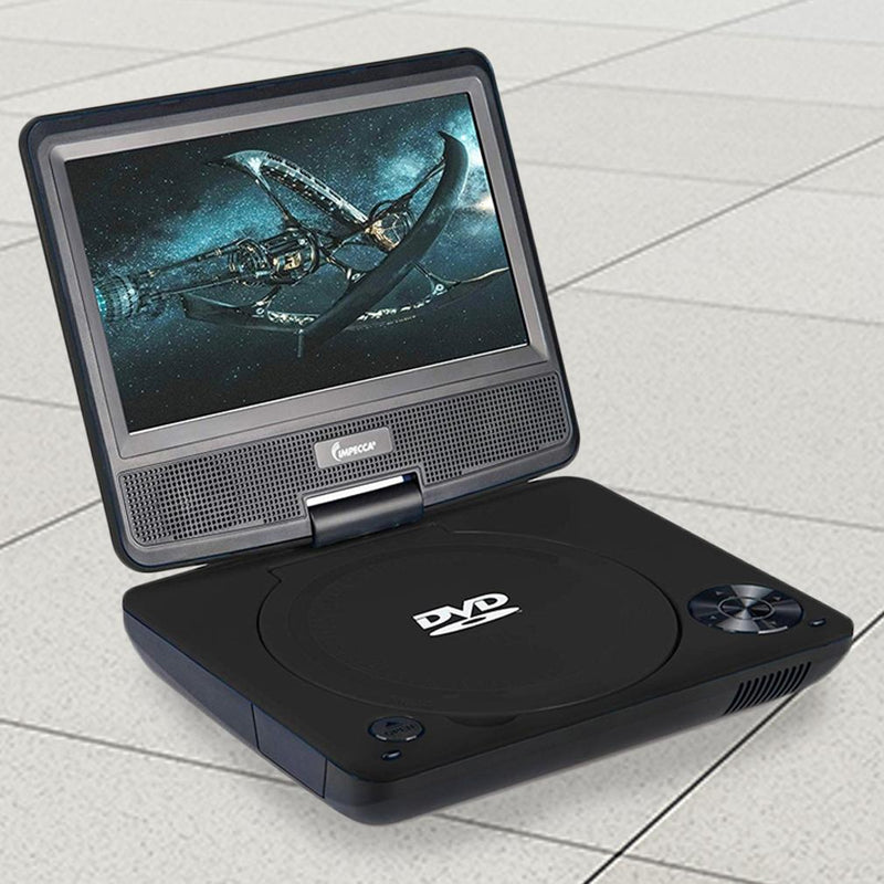 Impecca Portable DVD Player Swivel Screen Gadgets & Accessories - DailySale