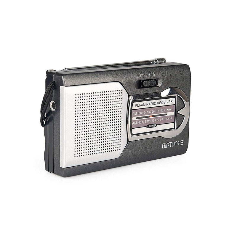 Impecca Riptunes Am/Fm Portable Radio with Speaker Gadgets & Accessories - DailySale