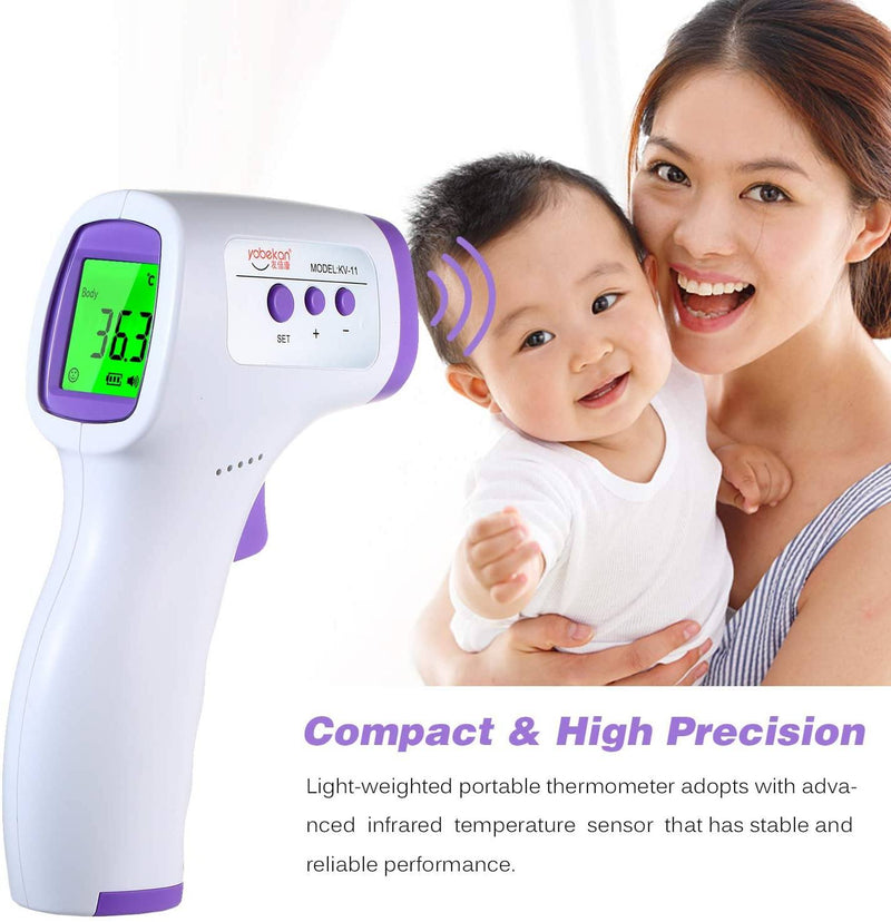 Infrared Non-Contact Thermometer Wellness & Fitness - DailySale