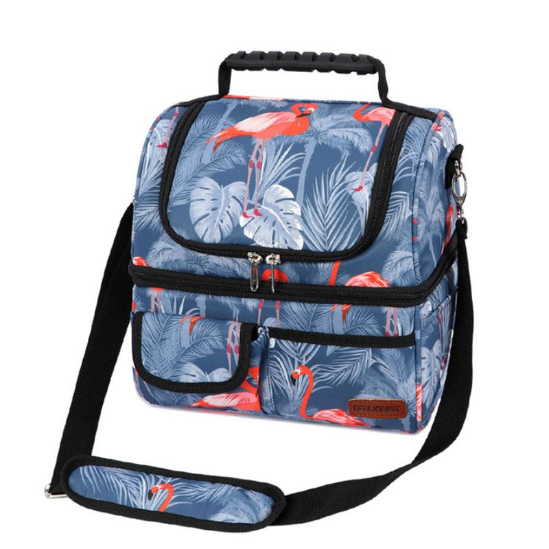 Insulated Multi-Compartment Lunch Box Bags & Travel Flamingo - DailySale