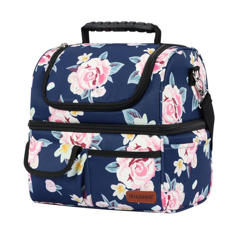 Insulated Multi-Compartment Lunch Box Bags & Travel Roses - DailySale