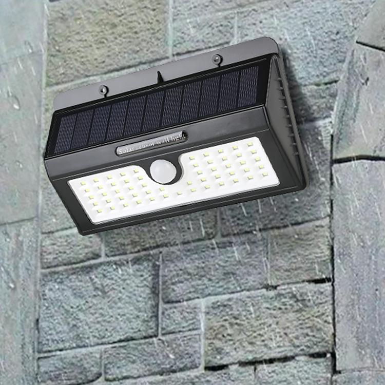 IP65 Waterproof Solar Lights Outdoor 55 LEDs Wall Solar Lights Home Lighting - DailySale