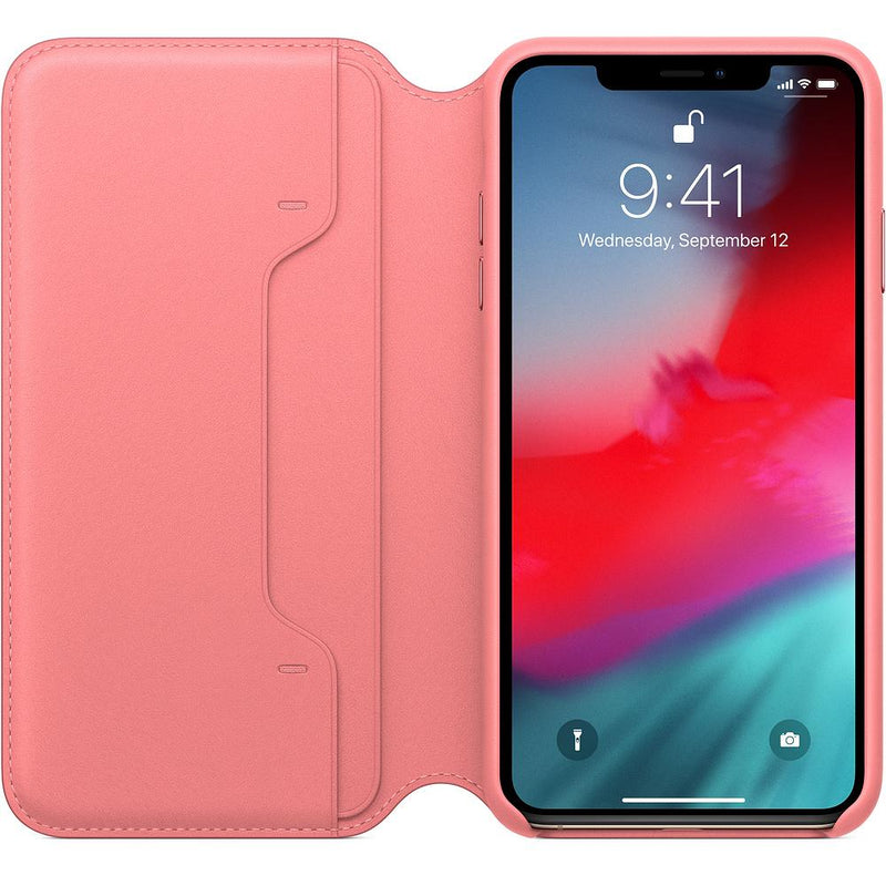iPhone XS Max Leather Folio