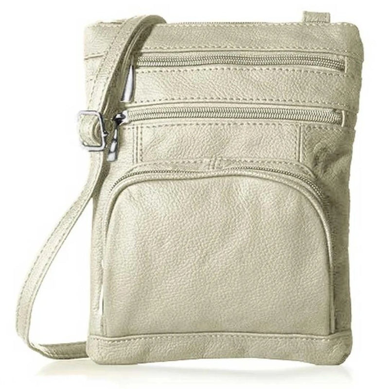 Super Soft Leather-Crossbody Bag - Assorted Colors - DailySale, Inc