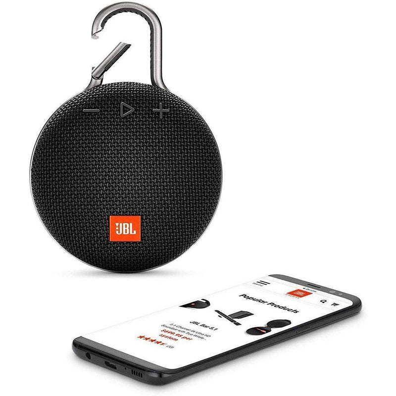 JBL CLIP 3 - Waterproof Portable Bluetooth Speaker Speakers - DailySale