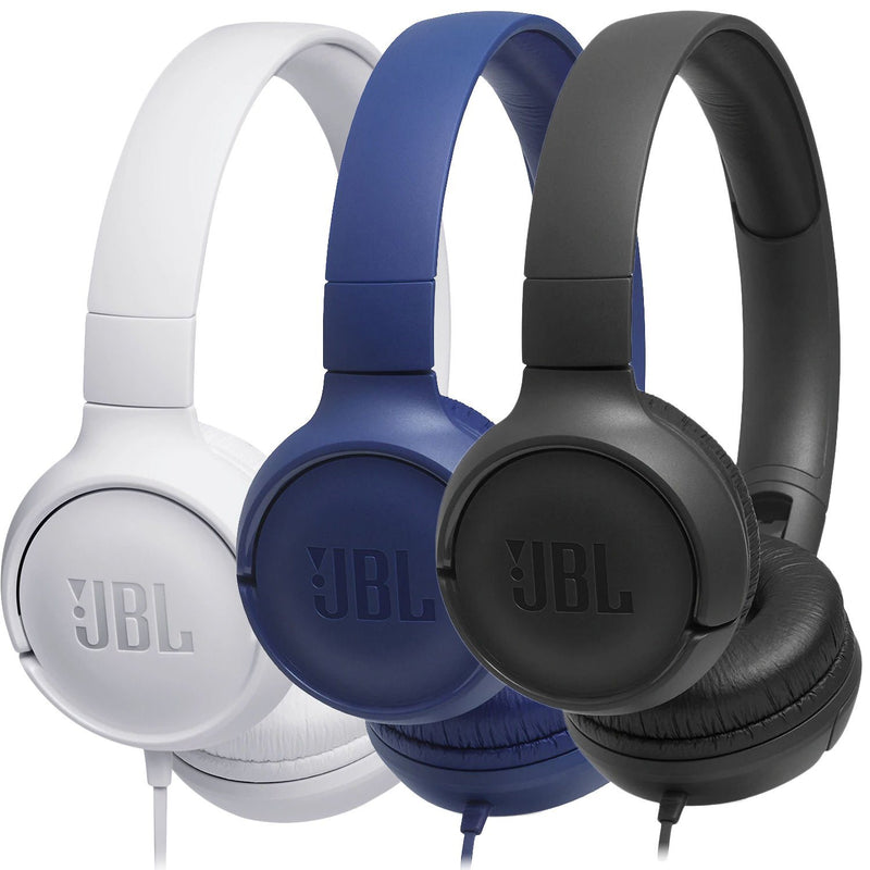 JBL TUNE 500 Wired On-Ear Headphones Headphones - DailySale