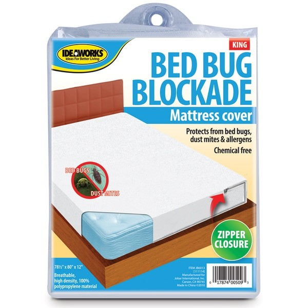 Ideaworks Bed Bug Blockade Mattress Protector - Size: King - DailySale, Inc