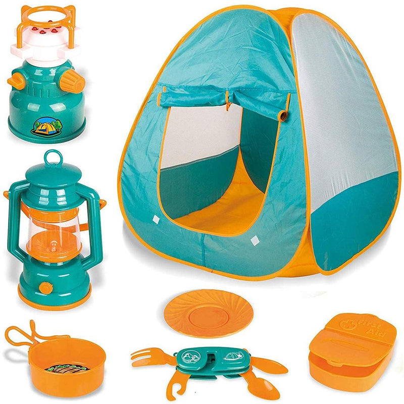 Kid's Camping Tent Toy Set Toys & Games - DailySale