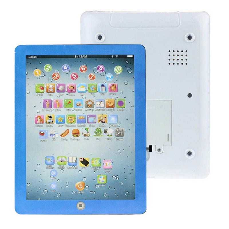 Kids First Educational Learning Touch Screen Tablet - Assorted Colors Toys & Games Blue - DailySale