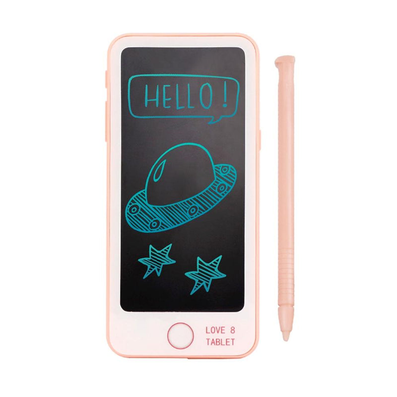 Kids Write & Erase Smartphone With Pen Toys & Games Pink - DailySale