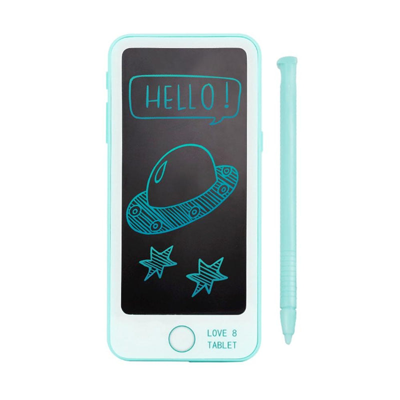 Kids Write & Erase Smartphone With Pen Toys & Games Teal - DailySale