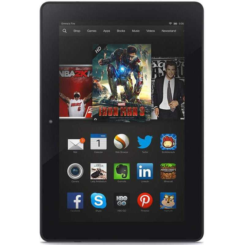Kindle Fire HDX 8.9-Inch 3rd Generation Tablet Tablets & Computers 16GB - DailySale