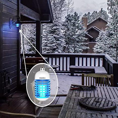 Koramzi Cordless Insect Killer/Bug Zapper 5 Watts UVA Tube Garden & Patio - DailySale