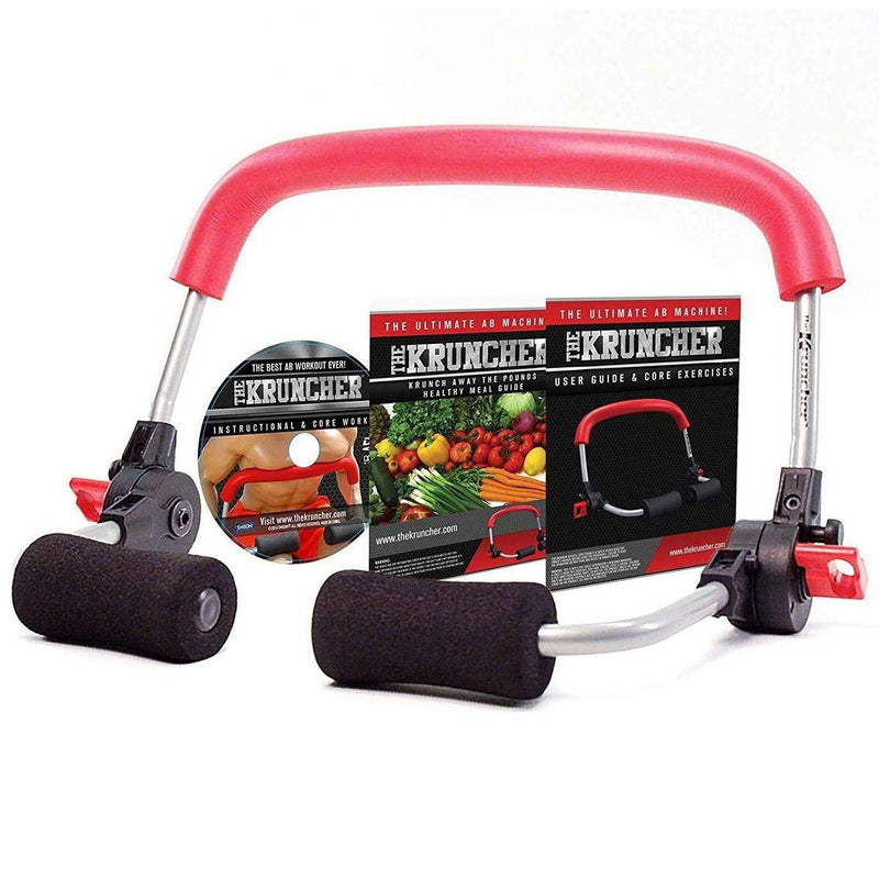 Kruncher The Ultimate Ab Machine Wellness & Fitness - DailySale