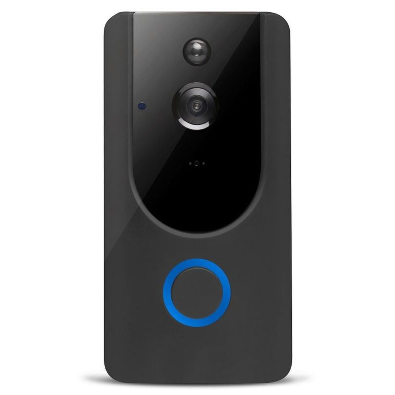 L500 WiFi Smart Wireless Doorbell Camera Gadgets & Accessories Black - DailySale