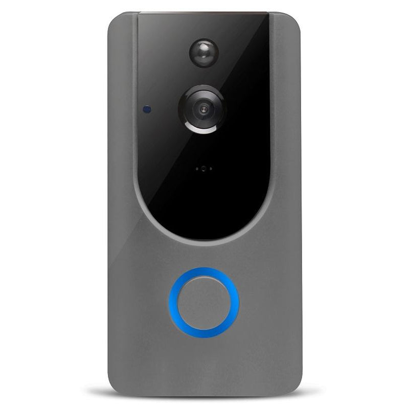 L500 WiFi Smart Wireless Doorbell Camera Gadgets & Accessories Gray - DailySale