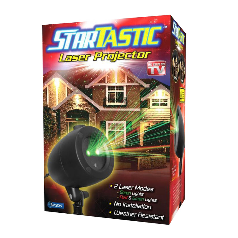 Holiday Startastic LED Laser Projectors - DailySale, Inc