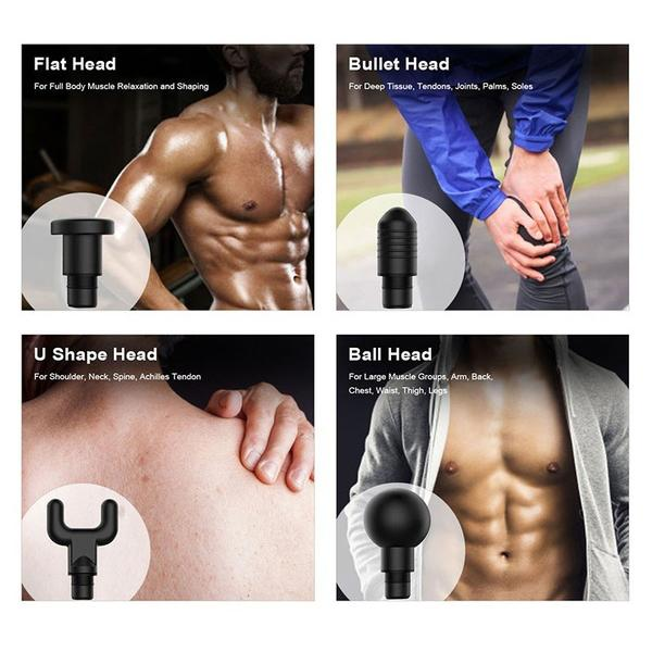 LCD Display Professional Muscle Deep Massage Gun Wellness - DailySale