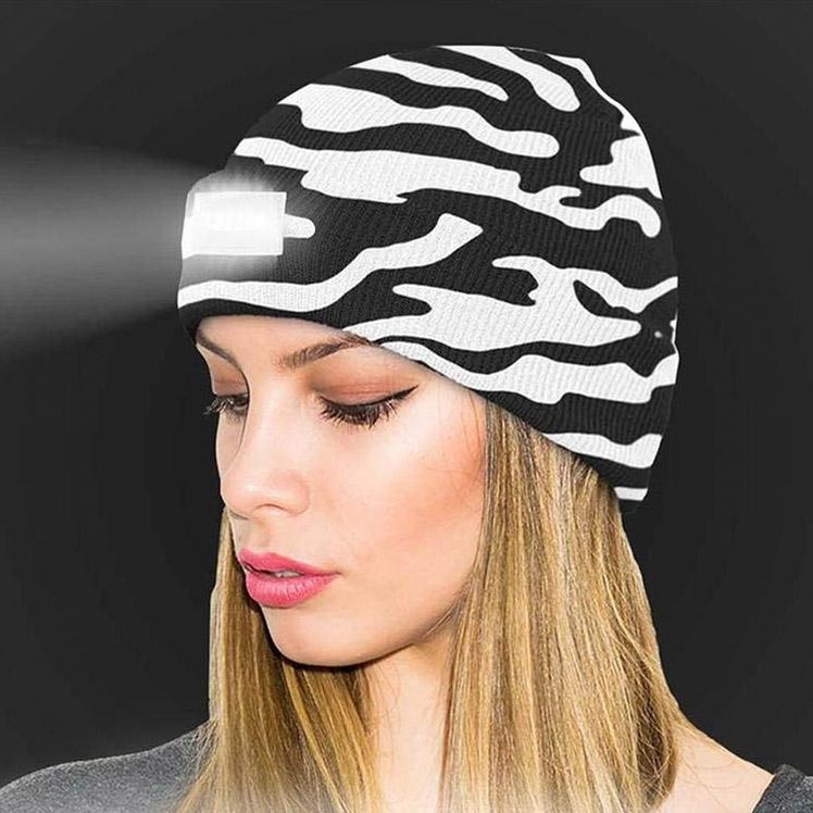 LED Headlamp Beanie for Men and Women Women's Apparel - DailySale