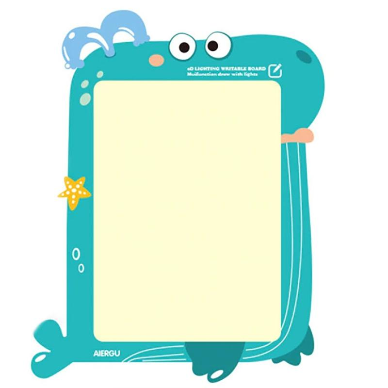 LED Luminous Drawing Board With Light-Fun Fluorescent Pen Toys & Games Whale - DailySale