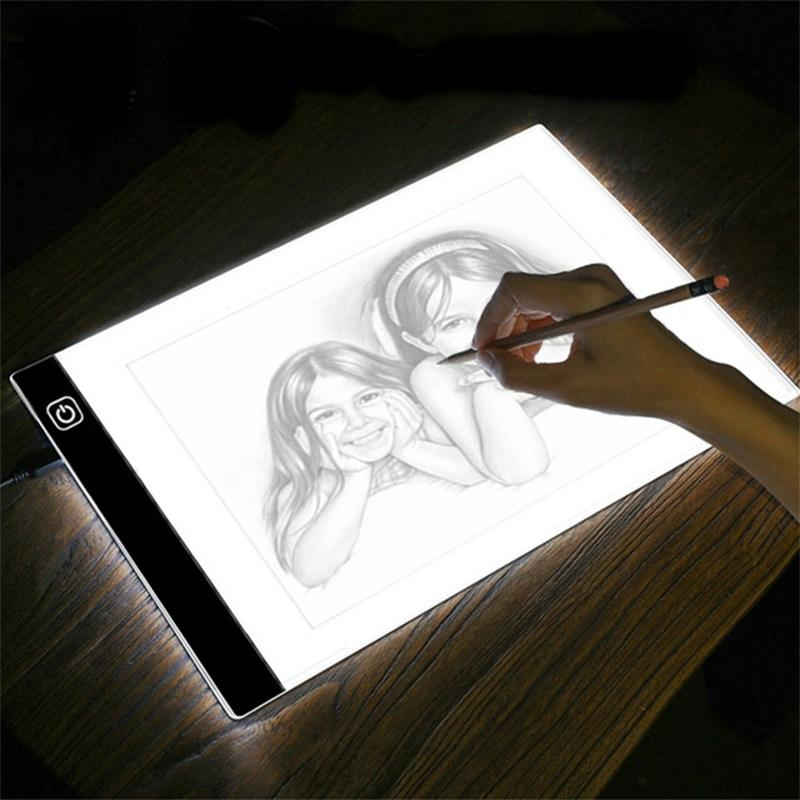 LED Tracing Pad with Adjustable 3-Level Dimmer Gadgets & Accessories - DailySale