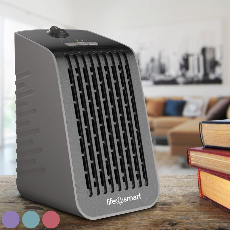 Life Smart Desktop Personal Heater & Fan - Assorted Colors Home Essentials - DailySale