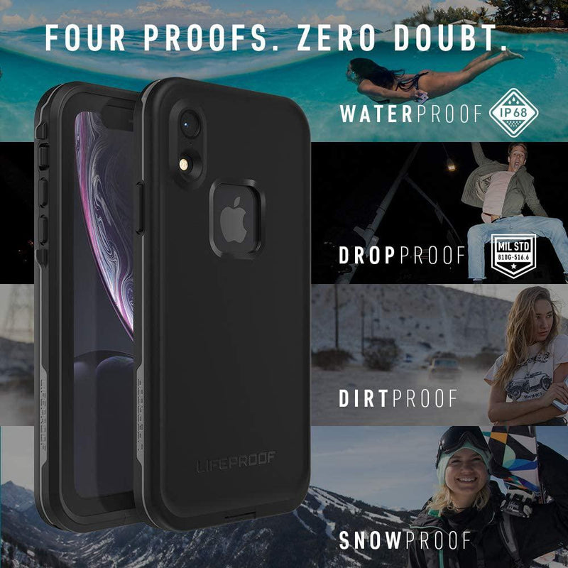 Lifeproof FRĒ SERIES Waterproof Case for iPhone Xs Cell Phone Accessories - DailySale