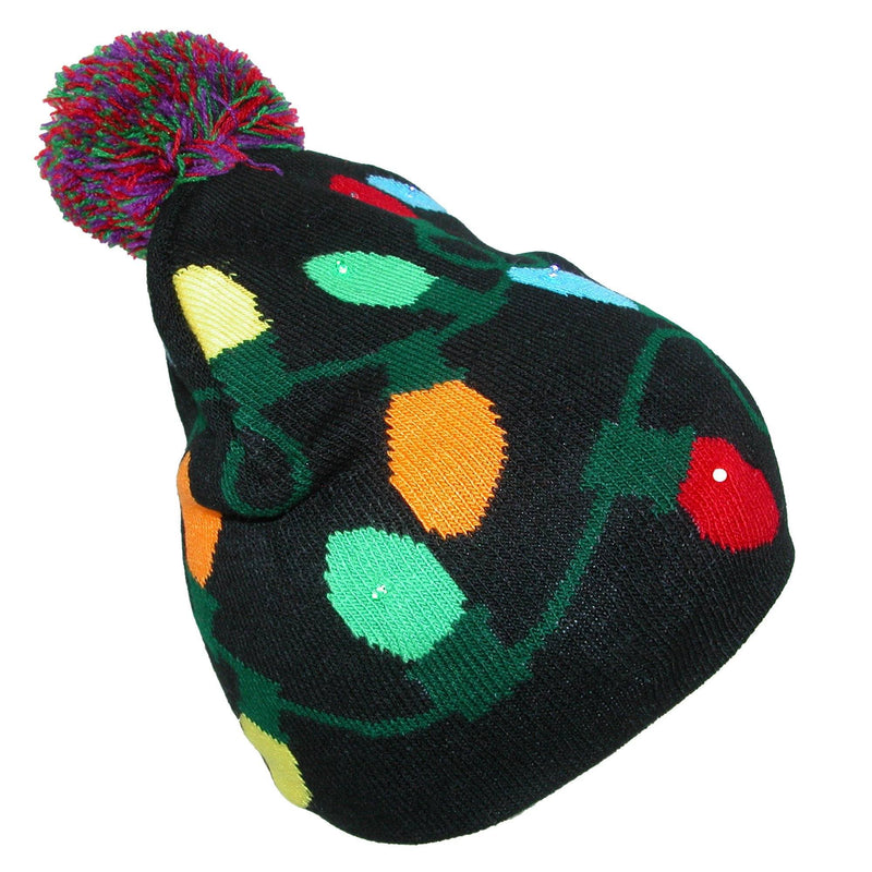 Light-Up Holiday Beanie Women's Accessories - DailySale