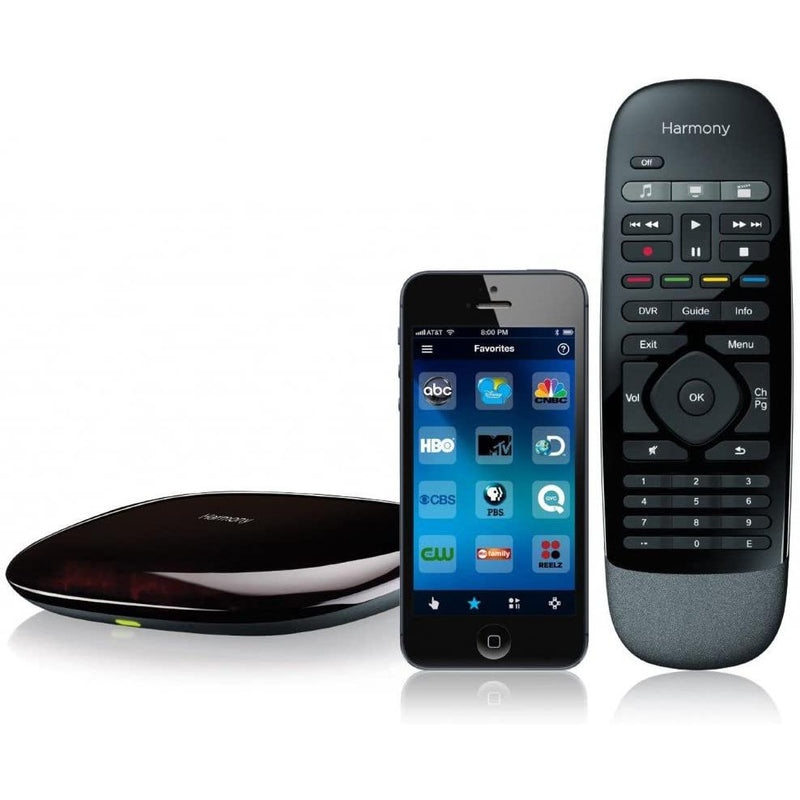 Logitech 915-000194-Harmony Smart Remote - Black Camera, TV & Video - DailySale