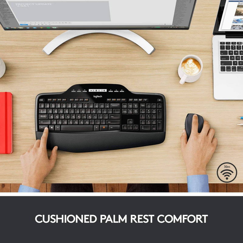 Logitech MK710 Wireless Keyboard and Mouse Combo Computer Accessories - DailySale