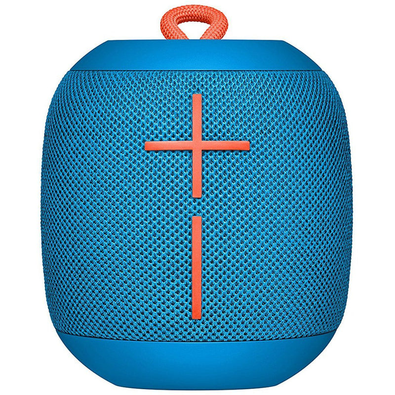 Logitech Ultimate Ears WONDERBOOM Super Portable Waterproof Bluetooth Speaker Headphones & Speakers Blue - DailySale