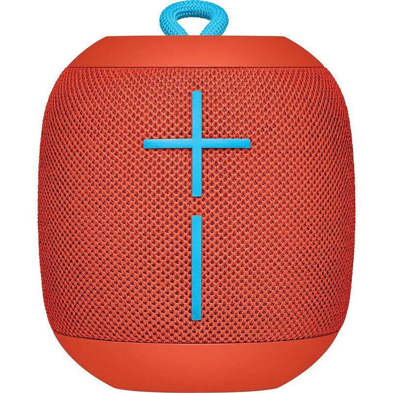 Logitech Ultimate Ears WONDERBOOM Super Portable Waterproof Bluetooth Speaker Headphones & Speakers Red - DailySale
