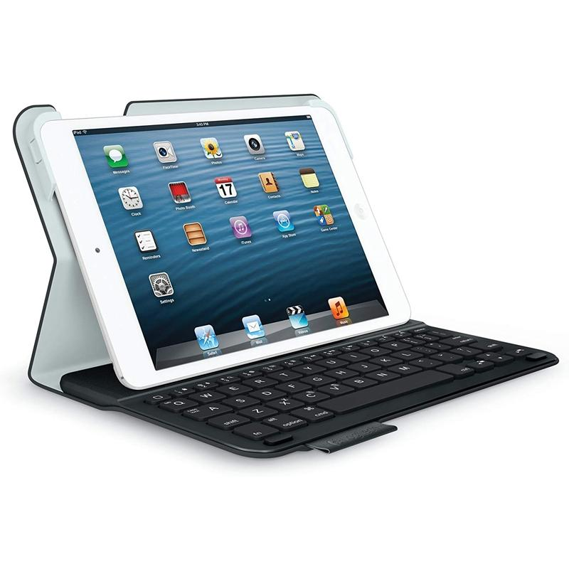 Logitech Ultra-Flat Keyboard Folder for IPad Mini Tablets & Computers - DailySale