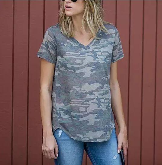 Loose Cut Casual Short Sleeve Top - Assorted Colors and Sizes Women's Apparel - DailySale