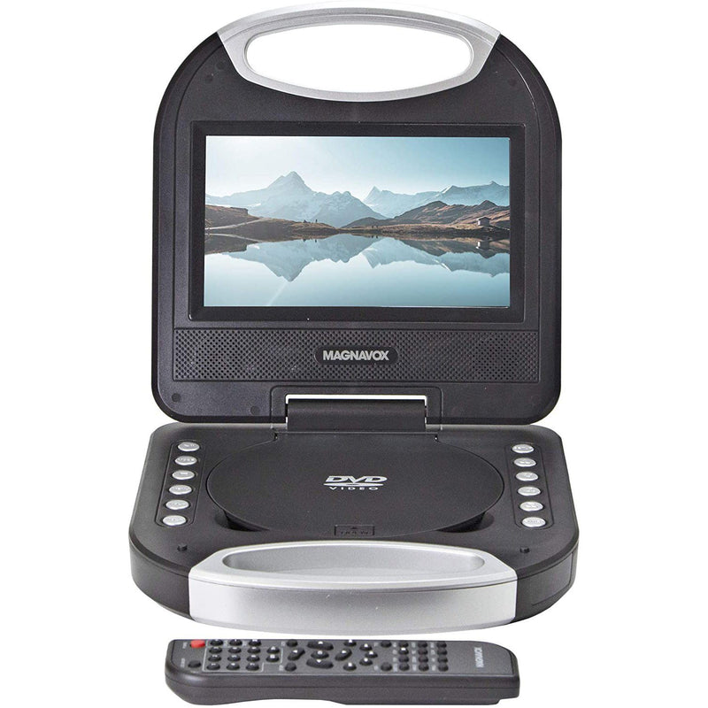 Magnavox MTFT750-BK Portable 7 inch TFT DVD/CD Player TV & Video - DailySale