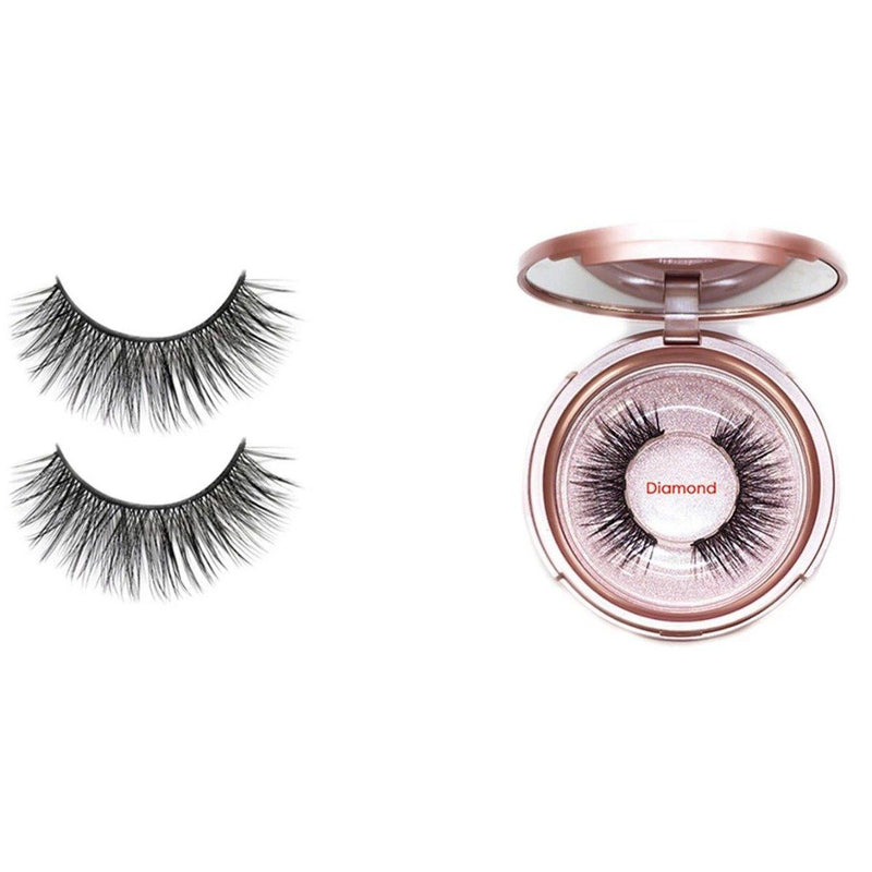 Magnetic Eyeliner with 3D Magnetic Eyelashes & Tweezers Kit Beauty & Personal Care Diamond - DailySale