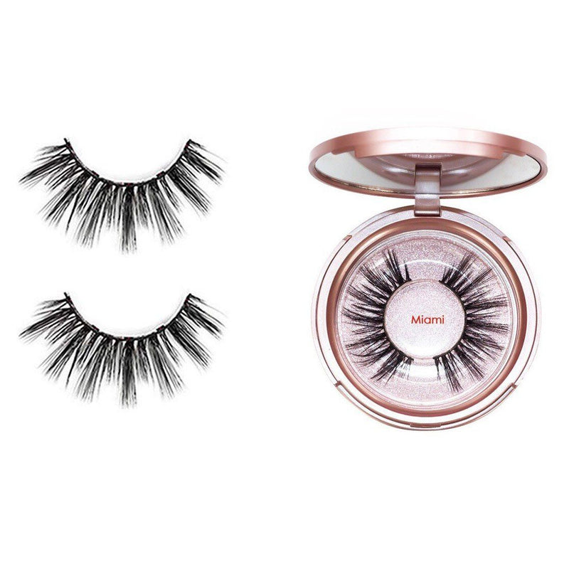 Magnetic Eyeliner with 3D Magnetic Eyelashes & Tweezers Kit Beauty & Personal Care Miami - DailySale
