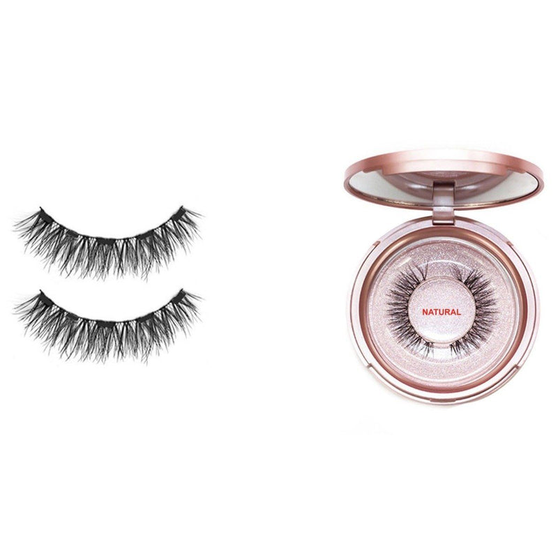 Magnetic Eyeliner with 3D Magnetic Eyelashes & Tweezers Kit Beauty & Personal Care Natural - DailySale