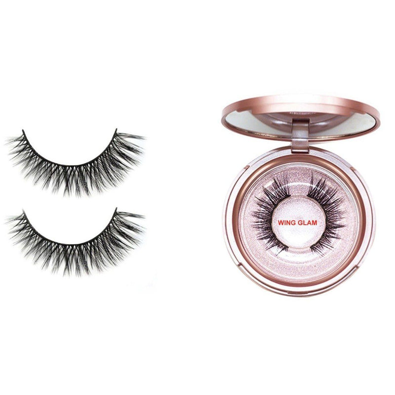 Magnetic Eyeliner with 3D Magnetic Eyelashes & Tweezers Kit Beauty & Personal Care Wing Glam - DailySale