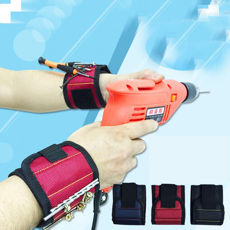 Magnetic Wristband With 6 Powerful Magnets Home Improvement - DailySale