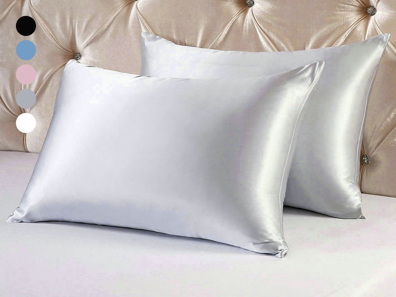Mulberry Silk Pillowcases - Assorted Colors - DailySale, Inc