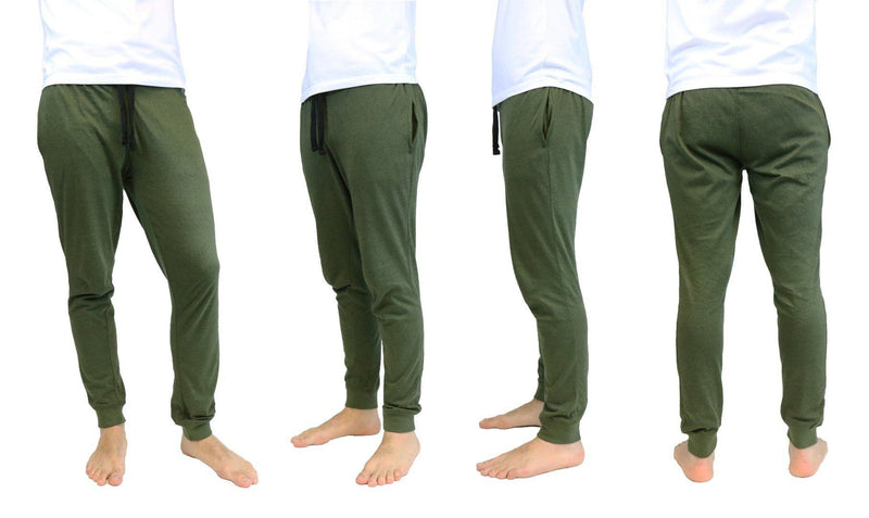 Marled Knit Joggers in Olive Color - Size: Small Men's Apparel - DailySale