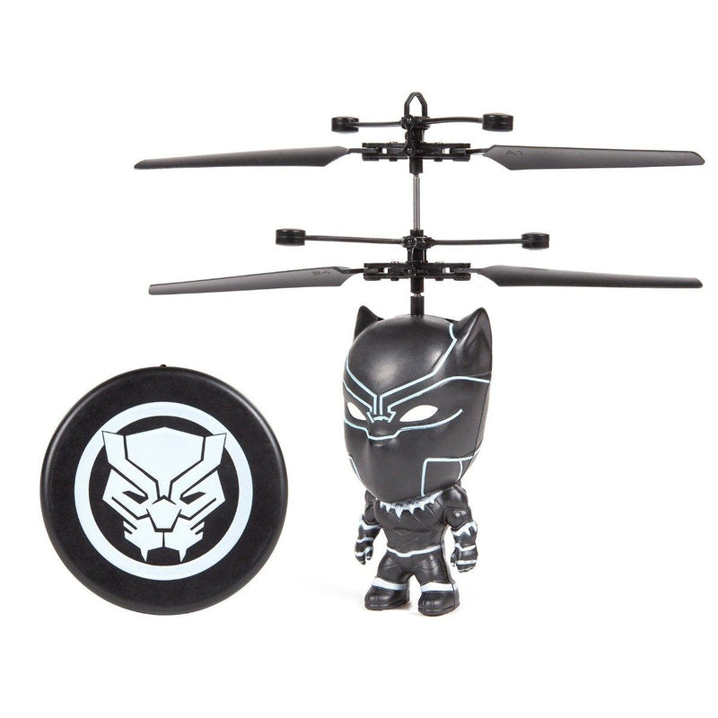 Marvel Licensed 3.5 Inch Flying Figure IR UFO Big Head Helicopter Toys & Games Black Panther - DailySale