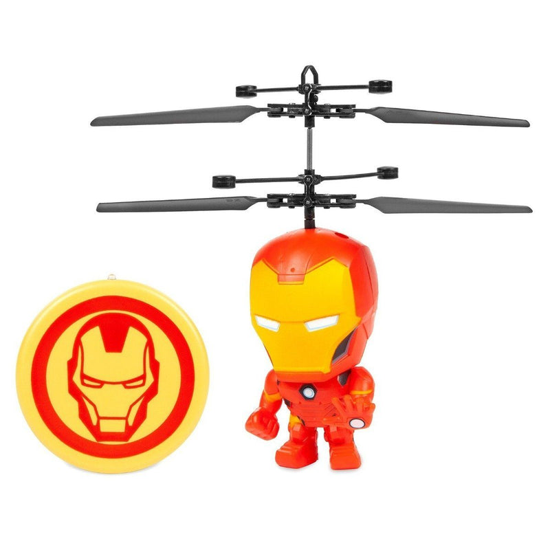 Marvel Licensed 3.5 Inch Flying Figure IR UFO Big Head Helicopter Toys & Games Iron Man - DailySale