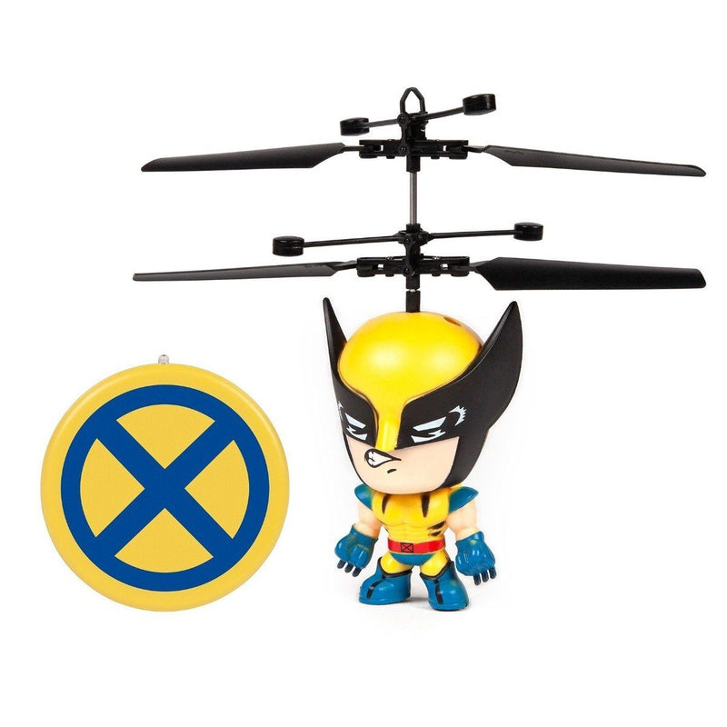 Marvel Licensed 3.5 Inch Flying Figure IR UFO Big Head Helicopter Toys & Games Wolverine - DailySale