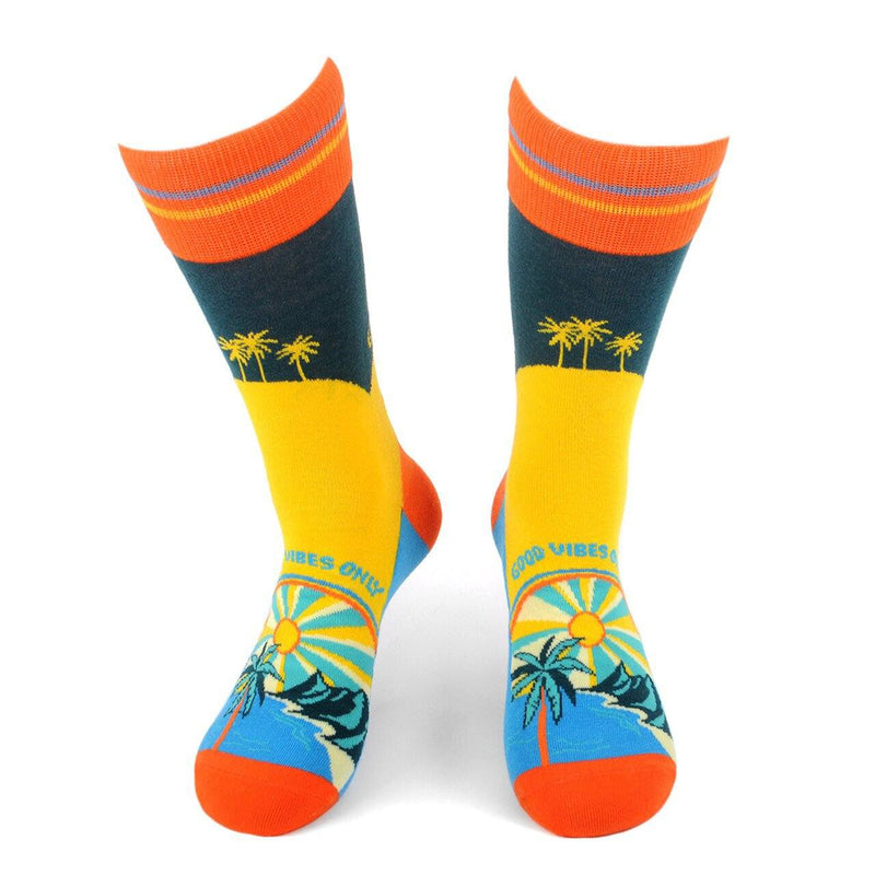 Men's Novelty Socks - Assorted Styles Men's Accessories Good Vibes - DailySale